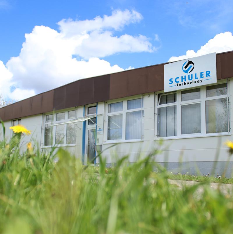 Niettechnik & Fördertechnik Hersteller SCHULER Technology - Aussenansicht